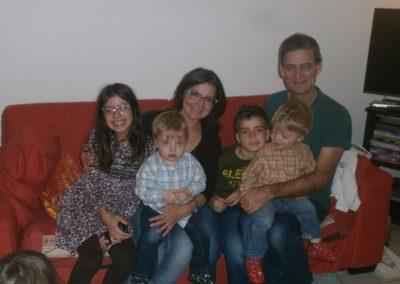 Stefania, Luca, Pinuccia, Daniele, Richard, Mattia